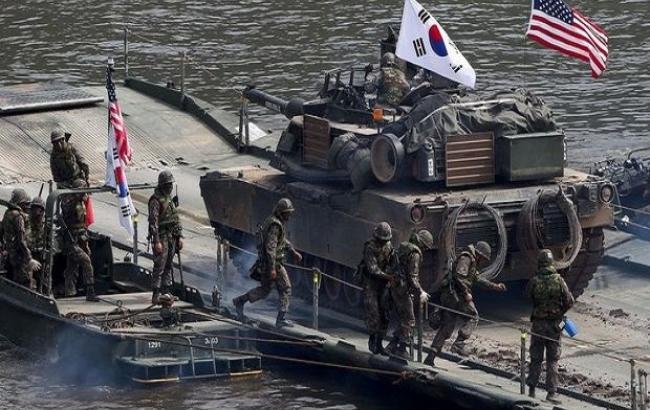 Фото: военные Южной Кореи и США