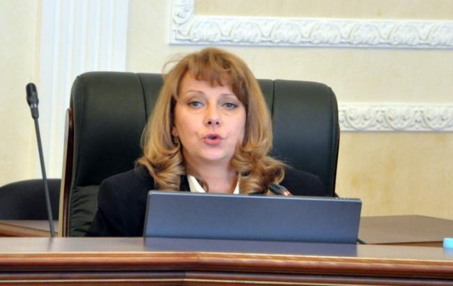 Фото: народний депутат України Тетяна Юзькова (PolitRada)