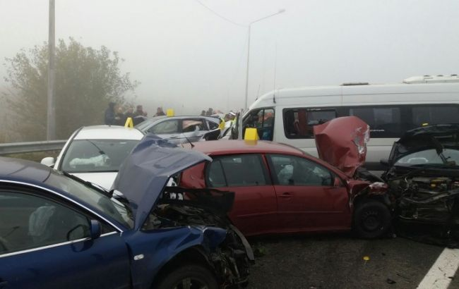 Фото: авария в Румынии