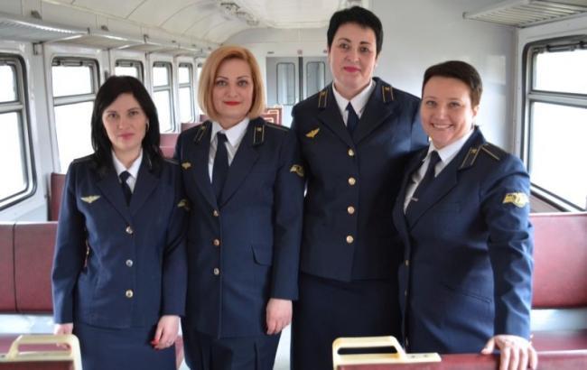 Фото: Провідниці-героїні