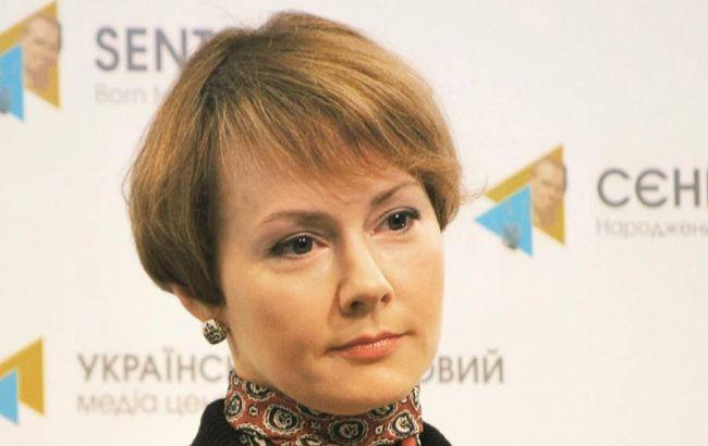 Фото: заступник міністра закордонних справ Олена Зеркаль розповіла про санкції проти Росії