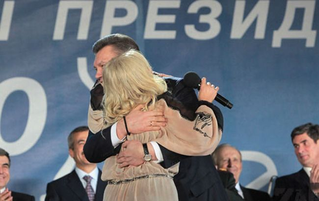 Улюблена співачка Януковича після пластики злякала киян (відео)