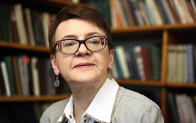 Фото: Оксана Забужко (РБК-Украина)