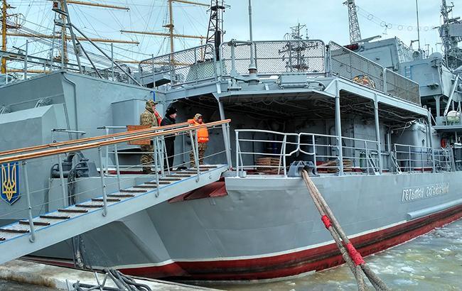 Средний возраст судов украинского флота - 30 лет