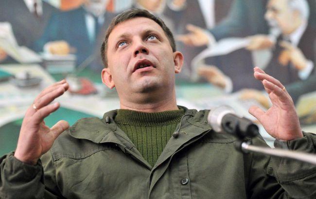 Глава ДНР заговорив про політичне рішення конфлікту на Донбасі
