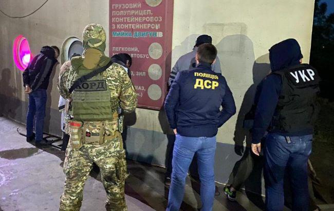 Стрельба в центре Киева: опубликовано видео задержания киллеров