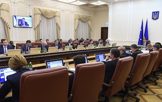 Фото: заседание Кабмина (kmu.gov.ua)