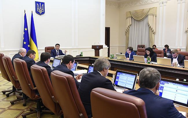 Кабмин одобрил законопроект об административно-территориальном устройстве Украины