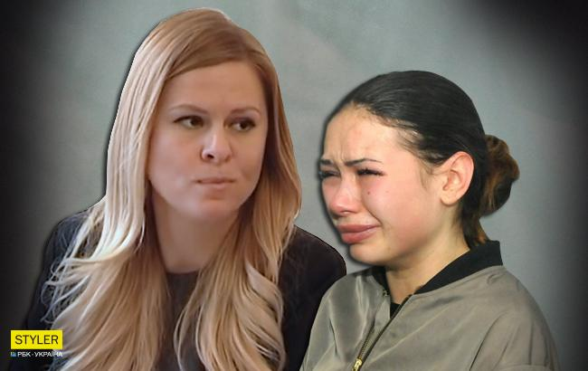 Алена Зайцева и ее адвокат Юлия Козырь (Коллаж РБК-Украина)