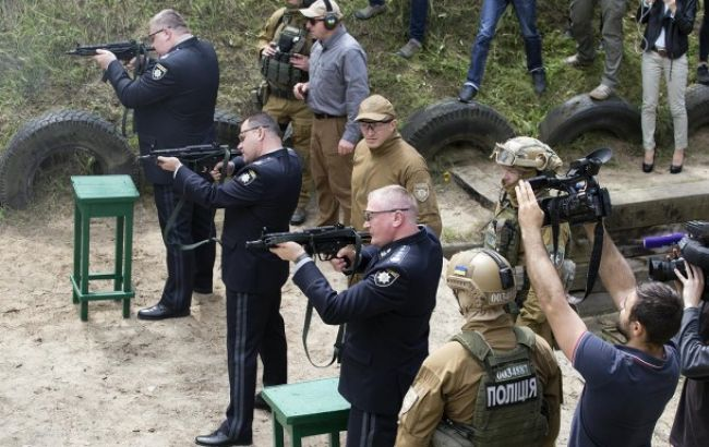 Нацполіція отримала новий вид зброї