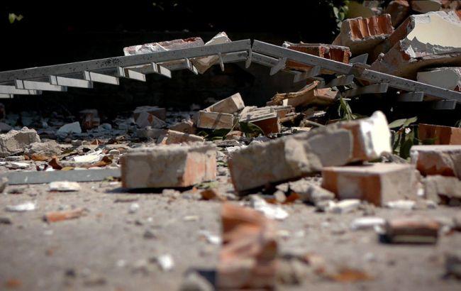 Фото: Аккумоли, що знаходився найближче до епіцентру землетрусу, практично повністю зруйнований