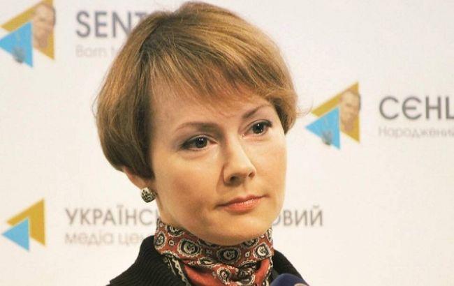 Фото: заступник міністра закордонних справ Олена Зеркаль
