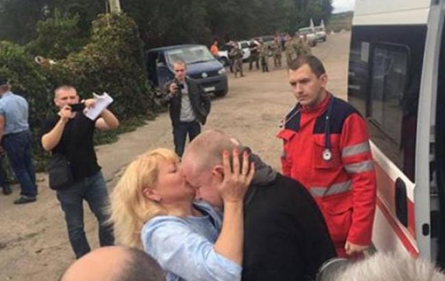 Фото: Владимир Жемчугов вернулся домой (facebook.com)