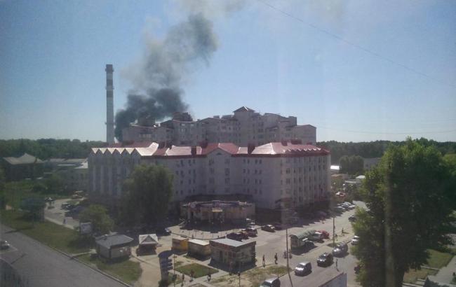 Фото: пожежа в Броварах