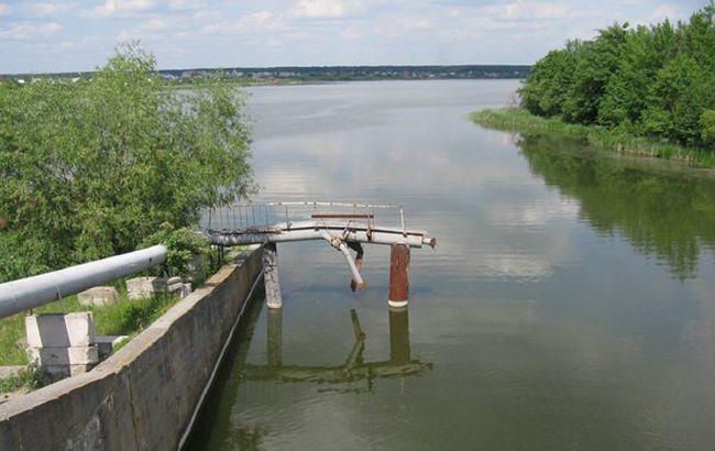 Рівень води у водосховищі, яке забезпечує Житомир, знову опускається