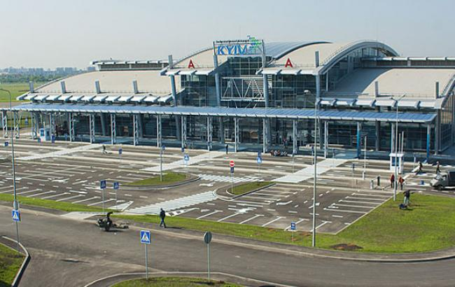 "Фото: Аэропорт ""Киев"" (kievvlast.com.ua)"