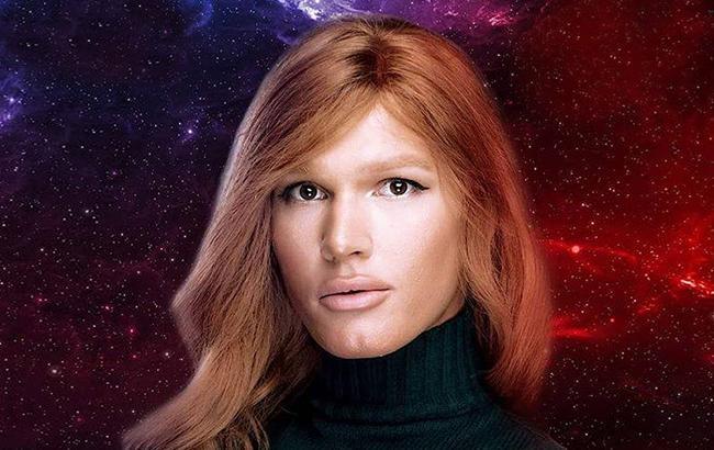 Фото: Певица-трансгендер Зианджа, известная всем как Борис Апрель (facebook.com-goloskrainy)