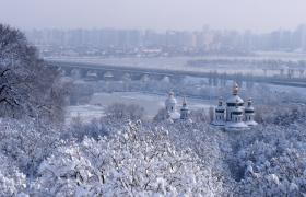 Фото: Зима в Киеве
