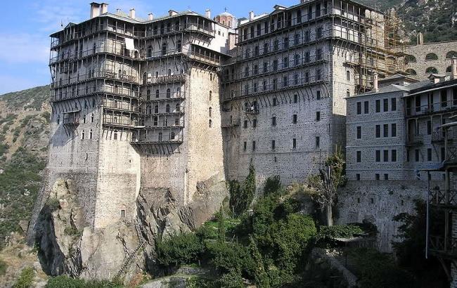 Фото: Монастир Симонопетра (ma-planete.com)