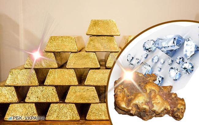 НБУ повысил курс золота до 350,81 тыс. гривен за 10 унций