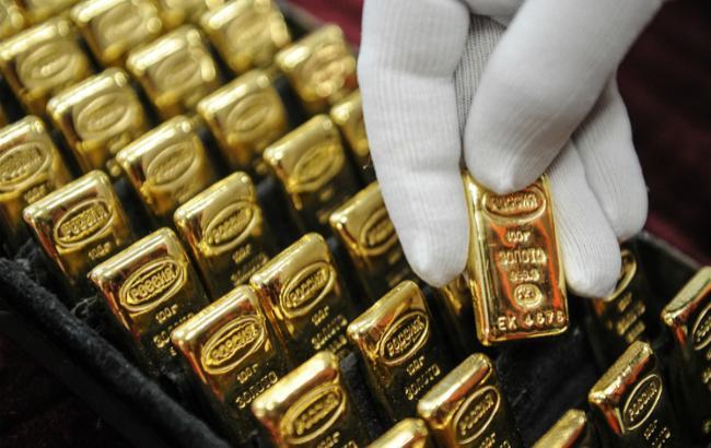 курс золота в Украине устанавливает НБУ