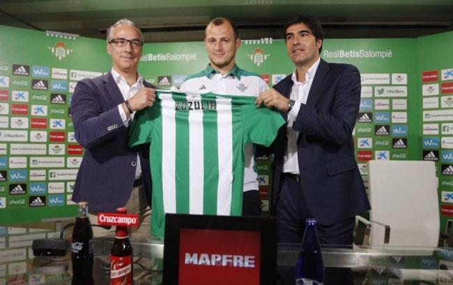 Фото: Роман Зозуля перейшов в іспанський клуб в кінці липня 2016 року (sport.mail.ru)
