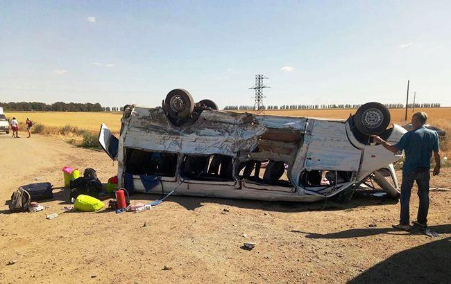 ДТП в Запорізькій області: поліція затримала водія вантажівки