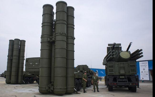 "Фото: зенітна ракетна система С-400 ""Тріумф"""