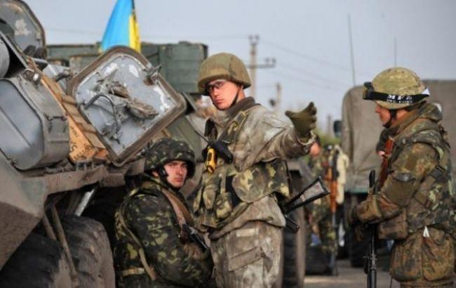 Фото: бойовики обстріляли сили АТО в районі Троїцького