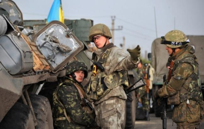 Фото: силы АТО понесли потери в Луганской области
