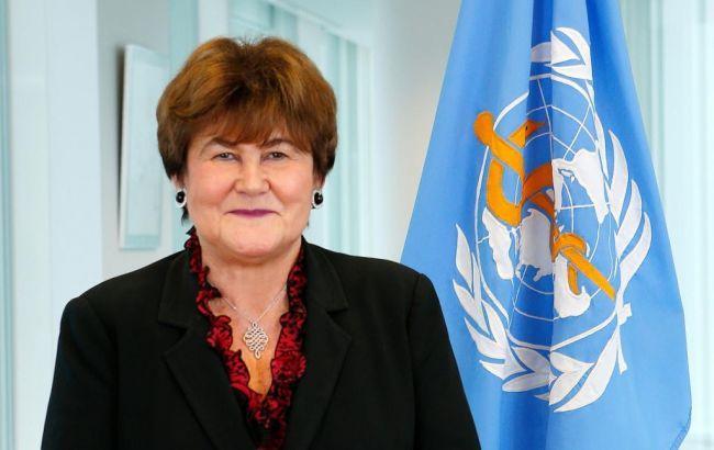 Фото: директор Европейского регионального бюро ВОЗ Сюзанна Якаб