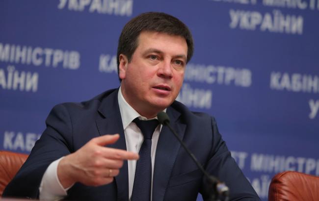 Фото: министр регионального развития, строительства и ЖКХ Украины Геннадий Зубко