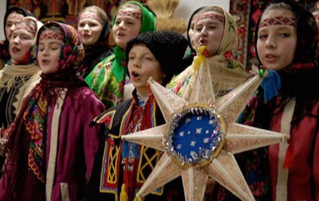 В Киеве зазвучали старинные колядки на церковнославянском языке