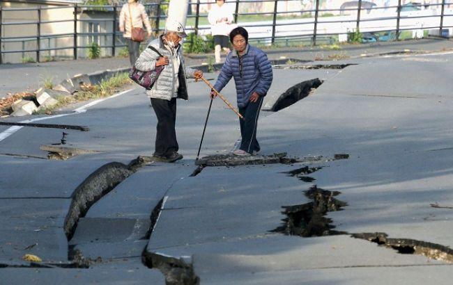 Фото: в Японии возле Фукусимы произошло мощное землетрясение